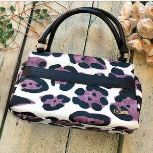 Miche leopard purse fall handbag reversible black